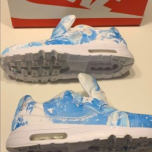 One of a Kind Air Max 1 Hydro Dip Size 10